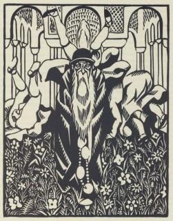 11-Hermann-Paul--illus.-for-Don-Quichotte-(Maestricht--1929)